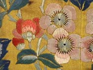 19th C. Chinese Silk Embroidery Robe Fragment